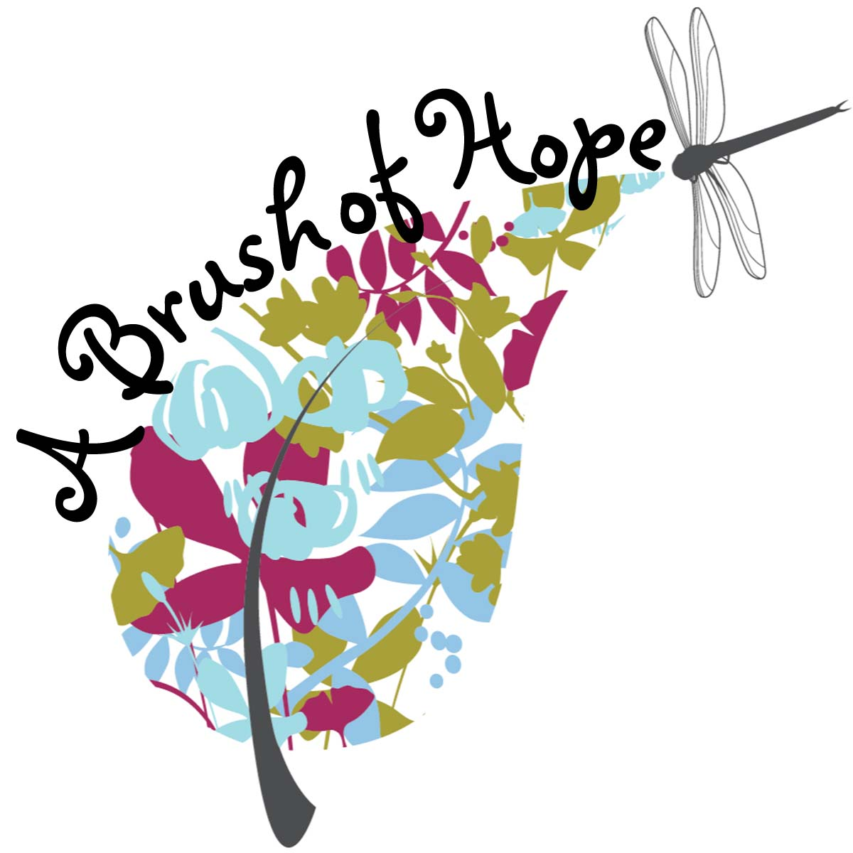 a brush of hope logo
