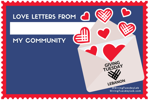 Love Letters to my Community - Giving Tuesday Lebanon